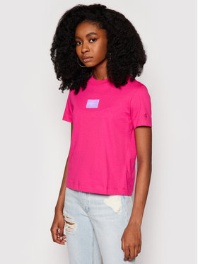 Calvin Klein Jeans Calvin Klein Jeans T-Shirt J20J216184 Rosa Regular Fit
