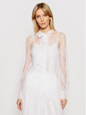 Ermanno Firenze Ermanno Firenze Koszula CM15PIZ Biały Regular Fit