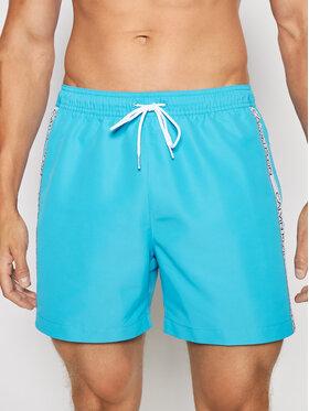 Calvin Klein Swimwear Calvin Klein Swimwear Szorty kąpielowe Drawstring KM0KM00558 Niebieski Regular Fit