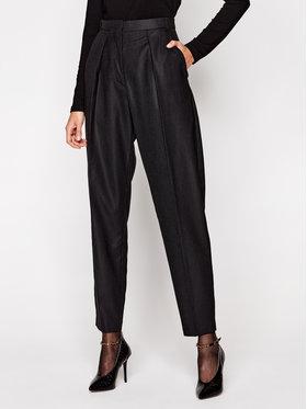 IRO IRO Spodnie materiałowe Cairn WP23 Czarny Straight Leg