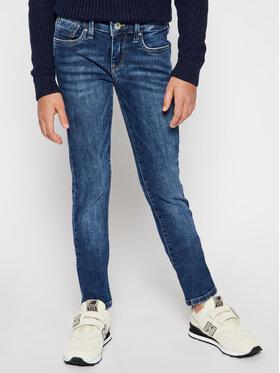 Pepe Jeans Pepe Jeans Jeansy PG200242 Tmavomodrá Skinny Fit