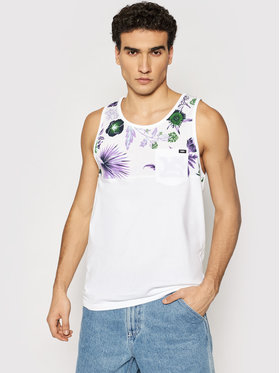 Vans Vans Tank top marškinėliai Hilby VN0006HQ Balta Relaxed Fit