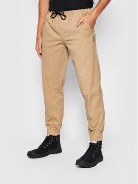Outhorn Outhorn Pantaloni di tessuto SPMC600 Marrone Regular Fit