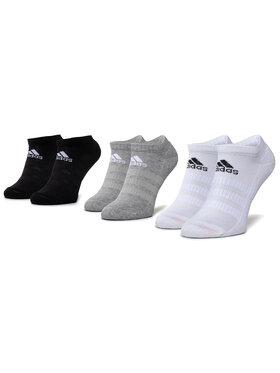 adidas adidas Комплект 3 чифта къси чорапи унисекс Cush Low 3Pp DZ9383 Черен