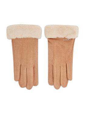 Liu Jo Liu Jo Дамски ръкавици Guanto Effetto Scam 3F1076 T0300 Кафяв