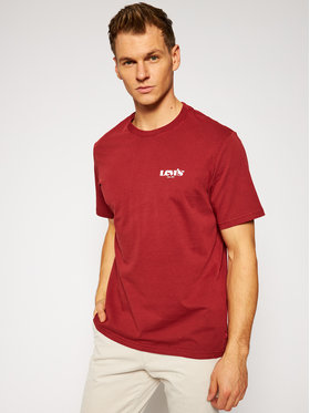 Levi's® Levi's® T-Shirt 16143-0088 Rot Relaxed Fit
