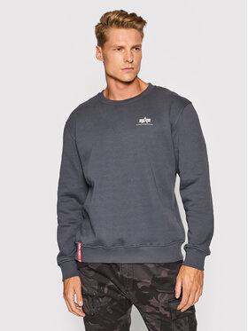 Alpha Industries Alpha Industries Sweatshirt Basic 188307 Grau Regular Fit