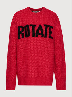 ROTATE ROTATE Pullover Brandy Jumper RT435 Rot Oversize