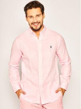 Lauren Ralph Lauren Lauren Ralph Lauren Koszula Classics 2 710795245 Różowy Custom Fit