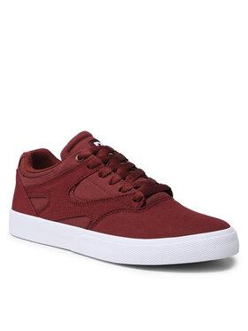 DC DC Sneakersy Kalis Vulc ADYS300569 Bordová