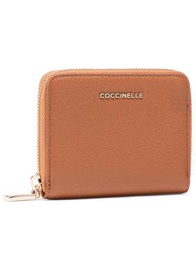 Coccinelle Coccinelle Kis női pénztárca HW5 Mettallic Soft E2 HW5 11 A2 01 Barna