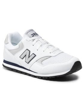 New Balance New Balance Sneakersy YC393CWN Bílá