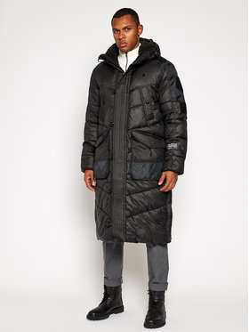 G-Star RAW G-Star RAW Зимно палто Utility Quilted Extra Long D17623-B958-6484 Черен Regular Fit