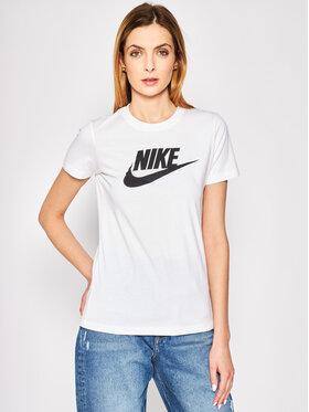 Nike Nike T-Shirt BV6169 Bílá Standard Fit