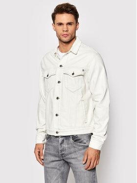 Pepe Jeans Pepe Jeans Kurtka jeansowa Pinner Colour PM402334 Biały Regular Fit
