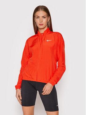 Nike Nike Kurtka do biegania Swoosh Packable DD4925 Czerwony Regular Fit