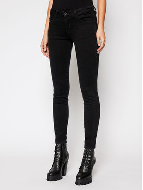 Guess Guess Skinny Fit džíny Curve X W1RAJ2 D4B22 Černá Skinny Fit