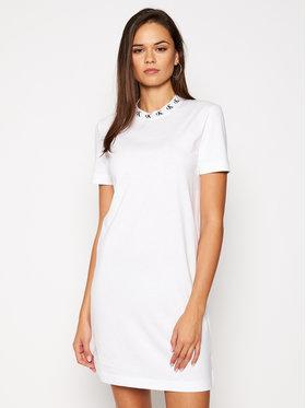 Calvin Klein Jeans Calvin Klein Jeans Každodenní šaty J20J214925 Bílá Regular Fit