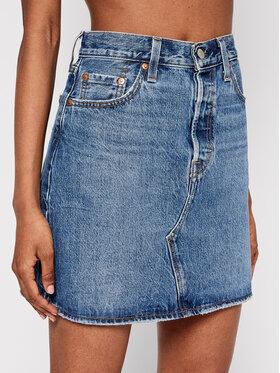 Levi's® Levi's® Jeans suknja High-Rise Deconstructed 77882-0044 Plava Regular Fit