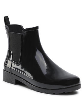 Hunter Hunter Guminiai batai W Org Refined Chelsea Gloss WFS1017RGL Juoda
