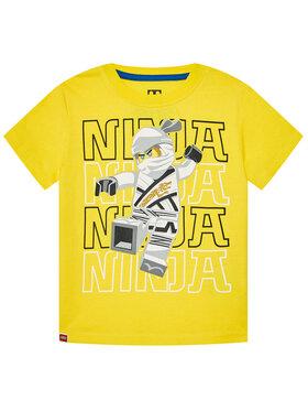 LEGO Wear LEGO Wear T-Shirt 12010102 Żółty Regular Fit