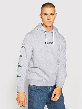 Lacoste Lacoste Bluza SH7221 Szary Regular Fit