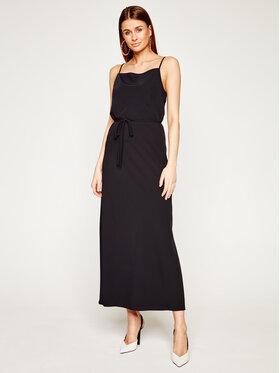 Calvin Klein Calvin Klein Sukienka letnia Cami K20K201839 Czarny Regular Fit