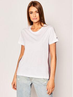 Tommy Hilfiger Tommy Hilfiger T-shirt Thea C-Nk WW0WW28025 Blanc Regular Fit