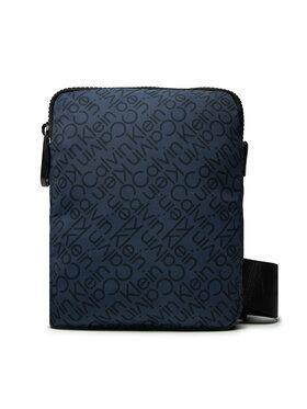 Calvin Klein Calvin Klein Umhängetasche Ck Code Flat Pack S Zz K50K508094 Dunkelblau