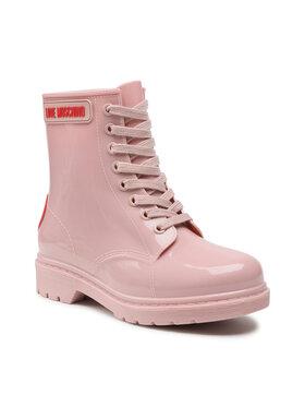 LOVE MOSCHINO LOVE MOSCHINO Guminiai batai JA24193G1DIR0601 Rožinė