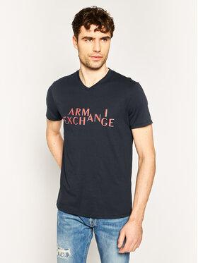 Armani Exchange Armani Exchange Tričko 3HZTBH ZJA5Z 1510 Tmavomodrá Regular Fit