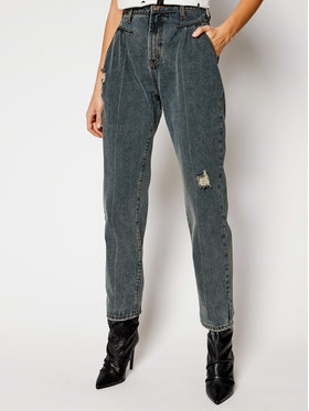 One Teaspoon One Teaspoon Jeansy Relaxed Fit St Walkers 23923 Granatowy Relaxed Fit