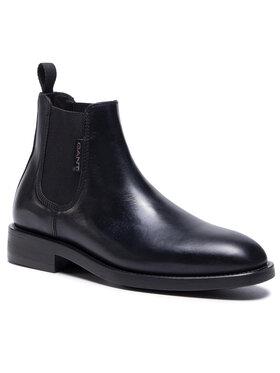 Gant Gant Μποτάκια με λάστιχο Brockwill 21651009 Μαύρο