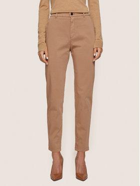 Boss Boss Pantaloni di tessuto C_Tachini-D 50435808 Marrone Regular Fit