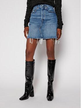 Levi's® Levi's® Džínová sukně Destructed 77882-0020 Modrá Slim Fit