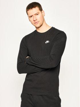 Nike Nike Longsleeve Nsw Club Tee AR5193 Czarny Regular Fit