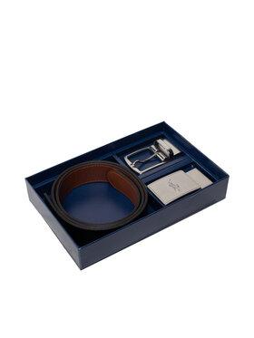 Polo Ralph Lauren Polo Ralph Lauren Zestaw upominkowy 35mm Rvrs Blt Gftbx 405699144001 Brązowy