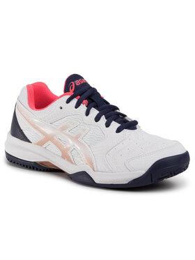 Asics Asics Παπούτσια Gel-Dedicate 6 Clay 1042A073 Λευκό