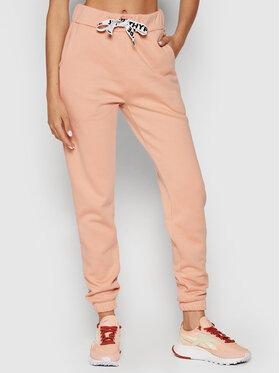 HYPE HYPE Pantalon jogging YWF-188 Rose Regular Fit