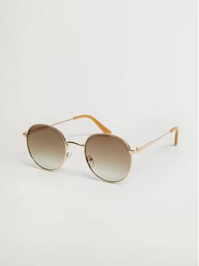 Mango Mango Okulary przeciwsłoneczne Brooklyn 17000182 Złoty