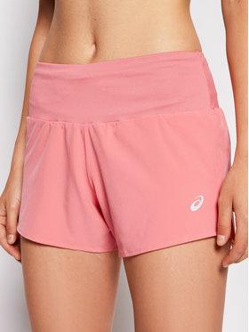 Asics Asics Pantaloni scurți sport Road 3.5In 2012A835 Roz Regular Fit