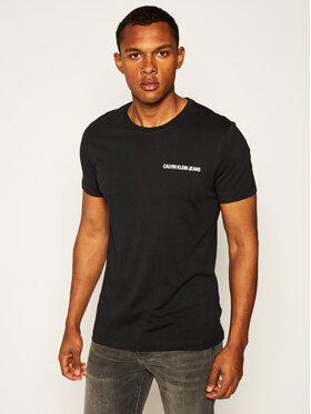 Calvin Klein Jeans Calvin Klein Jeans Tricou Institutional J30J307852 Negru Regular Fit