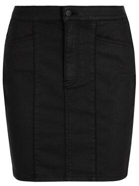 Calvin Klein Jeans Calvin Klein Jeans Džínová sukně J20J212783 Černá Slim Fit