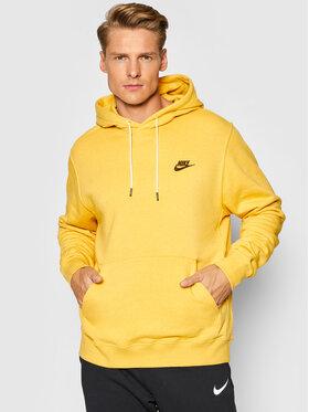 Nike Nike Bluză Sportswear DA0680 Galben Standard Fit