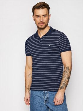 Wrangler Wrangler Polo marškinėliai Ss Yd Stripe W7ALKD114 Tamsiai mėlyna Regular Fit