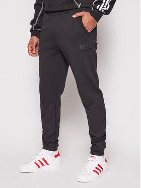 adidas adidas Spodnie dresowe R.Y.V. Silicone Double Linear Badge GN3304 Czarny Regular Fit