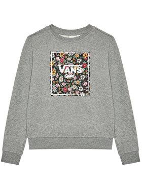 Vans Vans Bluză Print Box Crew VN0A5I73 Gri Regular Fit