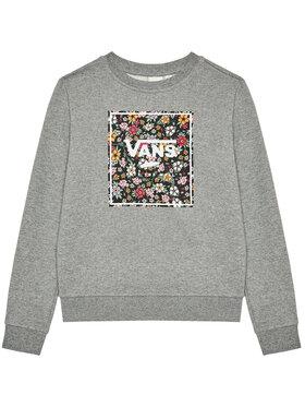 Vans Vans Суитшърт Print Box Crew VN0A5I73 Сив Regular Fit