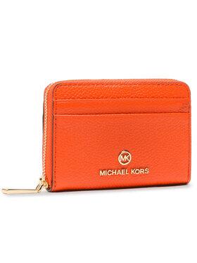 MICHAEL Michael Kors MICHAEL Michael Kors Малък дамски портфейл Jet Set Charm 34S1GT9Z1L Оранжев