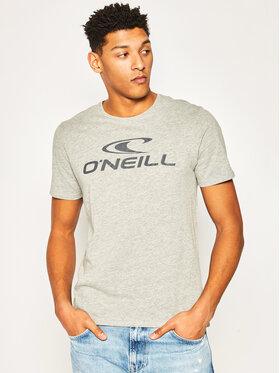 O'Neill Tričko N02300 Sivá Regular Fit